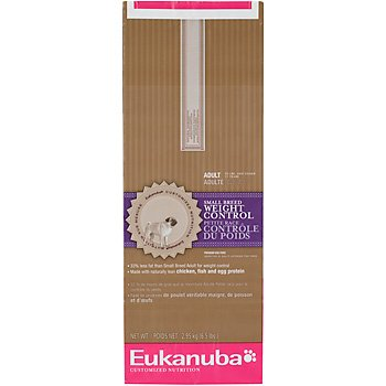 EUKANUBA SMALL BREED ADULT WEIGHT CONTROL 16LB BAG, My Pet Supplies