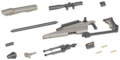 Kotobukiya M.S.G Modeling Support Goods Weapon Unit 09 New Sniper Rifle Total Length of About 148mm Non Scale Plastic Model (Weapon Unit)