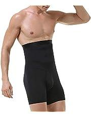 joyvio Herr Body Shaper Hög Midja Mage Magkontroll Trimmer Formande Underkläder Boxershorts Shapewear Shorts