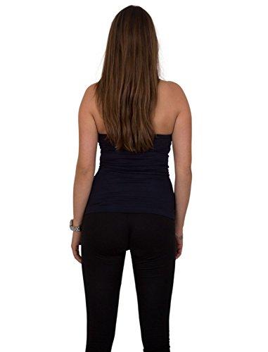 GIOVANI & RICCHI - Camiseta sin mangas - para mujer gris
