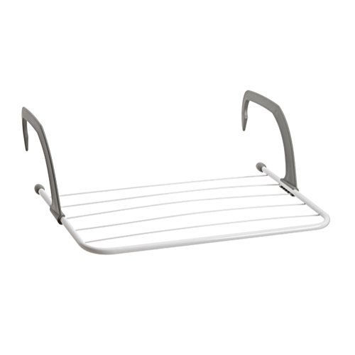 BESTOMZ Clothes Drying Rack Folding Rack-Hanging over the Do