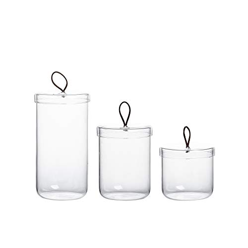 glass apothecary jars small - 6