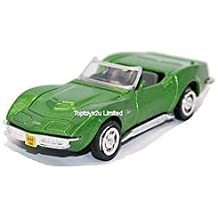 NewRay 1:43 Diecast 1969 Corvette Stingray Convertible In Green - All American City Cruiser Collection by New Ray
