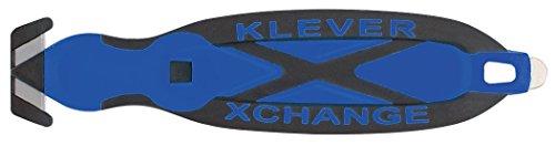 Safety Box Cutter, Klever XChange, Blue, Klever Kutter, KCJ-XC-B