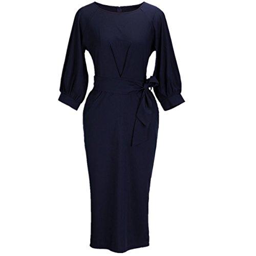 Puff Sleeve Dress - 7