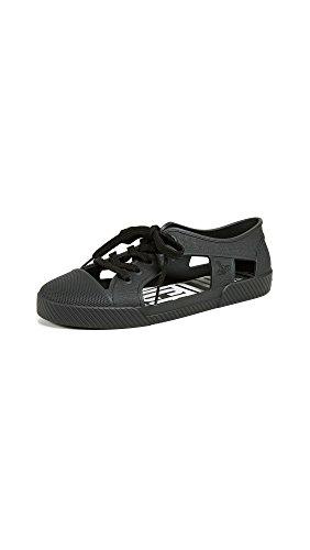 Melissa Women's x Vivienne Westwood Brighton Sneakers, Black, 7 M US
