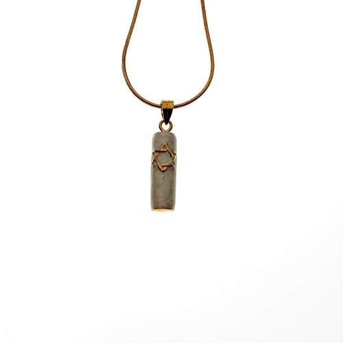 Mezuzah Pendant in Gold, Jewelry ()
