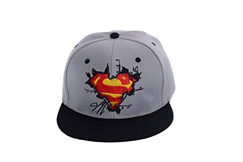 REINDEAR Superman Baseball Cap Hip-hop Snapback Hat US Seller (Superman Hats)