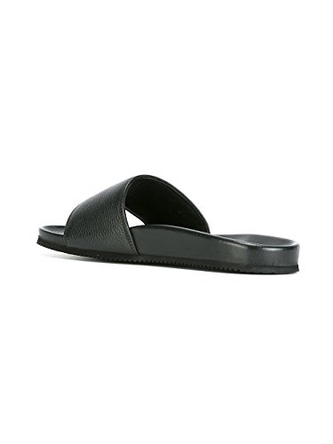 Buscemi Mannen 417smslied990a Zwart Lederen Sandalen