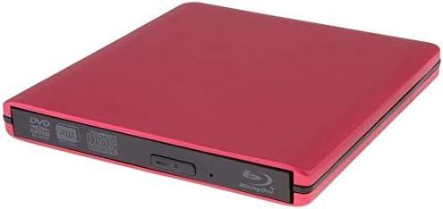 KJRJFD ブルーレイDVDドライブ、PCコンピュータ用のUSB3.0ポータブル3D 4KブルーレイCD / DVD-RAM/BD-ROMのSuperDrive CD +/- RWバーナーリライタ/カードリーダー