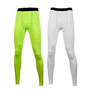 Well-Being-Matters 317OZDudMbL._SS300_ Boys Compression Leggings Toddler Baseball Pants Youth Football Basketball Tights Kids Base Layer