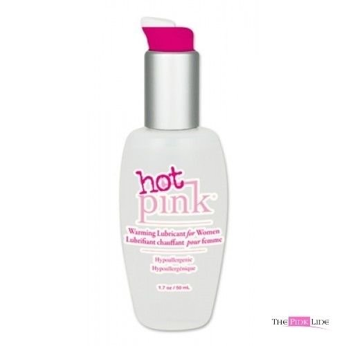 Siam Circus 3 Pack Hot Pink Water Based Warming Personal Lubricant Lube 1.7 oz Pump - Ass Fuck Pink