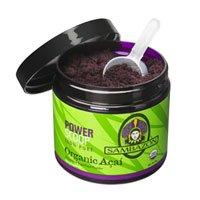 2 PACK- SAMBAZON Organic Freeze-Dried Acai Powder, Antioxidant Superfood, 90-Gram Jar - 90g Jar