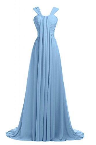Sunvary Romantic 2014 Light abito damigella d'onore sera da Blue Pageant da lungo Sky vestito Gowns qqrxSd
