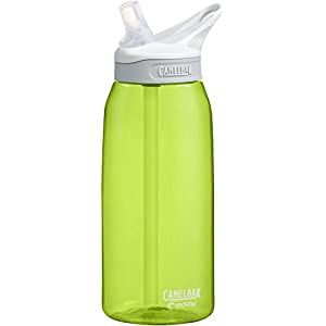 CamelBak Eddy Water Bottle, Limeade, 1 L
