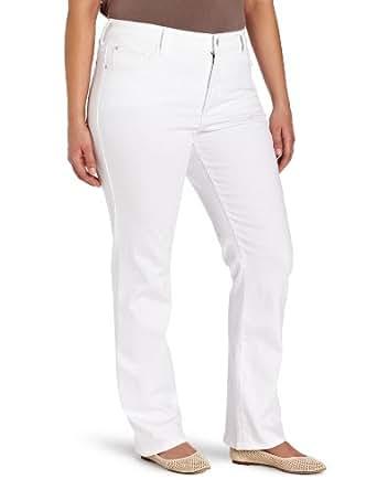 NYDJ Women's Plus-Size Marilyn Straight Jeans