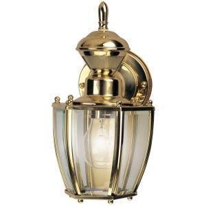 Amazon.com : Hampton Bay Solid Brass Outdoor Motion Sensing ...