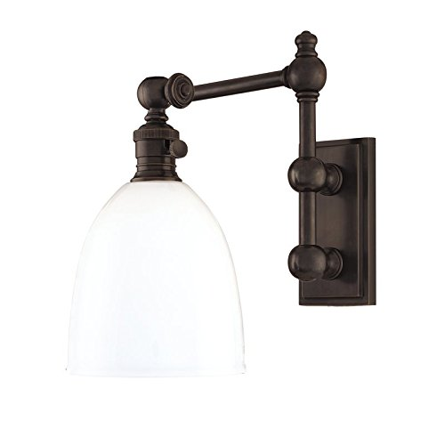 (Monroe Swing Arm Wall Lamp Finish: Old)