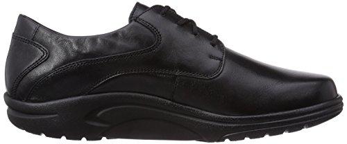 Ganter Aktiv Guido, Weite G - Zapatos De Cordones para hombre Negro (Negro 0100)
