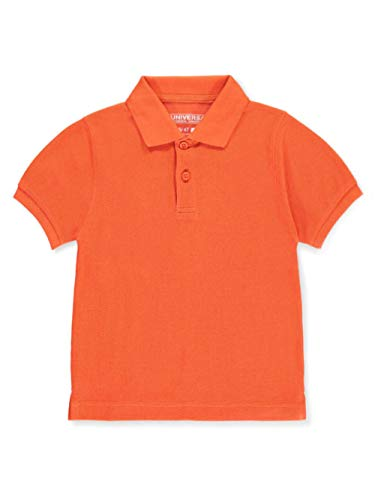 Universal Toddler Unisex S/S Pique Polo - orange, 4t