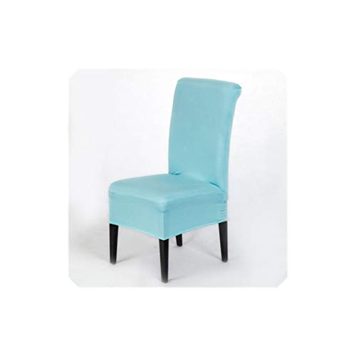 Tiffany Folding Bar - Dining Chair Slipcovers Universal Stretch Spandex Room Wedding Banquet Chair Cover Pure,Tiffany Blue,Universal