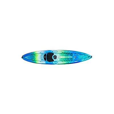 9350969174 Perception Tribe Sit On Top Kayak for Recreation - 11.5 by Confluence Kayaks