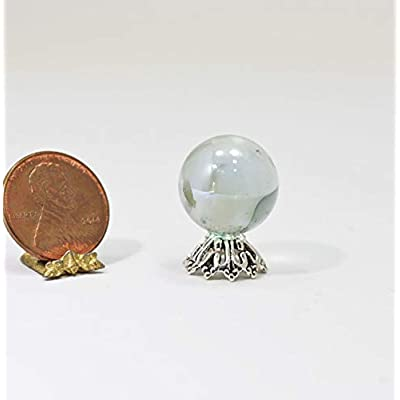 Multi Minis Dollhouse Miniature Crystal Fortune Tellers Ball: Toys & Games