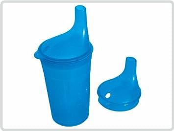 Vaso con tapa para té y uniforme, color: azul - Vaso Vasos ...
