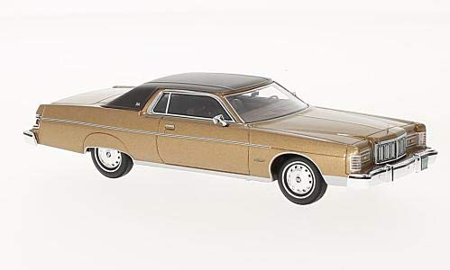 Mercury Marquis 2-Door Hardtop Coupe, metallic-dunkelbeige/dark brown, 1976, Model Car, Ready-made, Neo 1:43