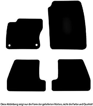 Bär Afc Fo01233 Basic Auto Fußmatten Nadelvlies Schwarz Rand Kettelung Schwarz Set 4 Teilig Passgenau Für Modell Siehe Details Auto