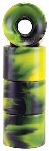 ロマンス現実的決してPenny Skateboard(ペニースケートボード) ウィール スワール PARTS(ウィール スワール パーツ) Swirl Green / Black(スワール グリーン/ブラック)  59MM