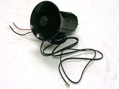 XuBa 100 W 12 V Sirena de Coche cami/ón bocina Fuerte polic/ía Fuego Sistema de micr/ófono 7 Tono de Sonido