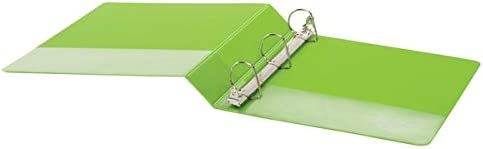 1 1//2 Rings Green Office Depot Brand Durable D-Ring View Binder 60/% Recycled