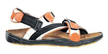 newalk Tempesta - Zapatos con correa de tobillo para mujer Naranja
