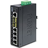 Planet IGS-5225-4T2S Industrial L2+ 4-Port 10/100/1000T + 2-Port 100/1000X SFP Managed Switch