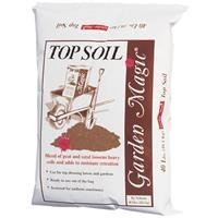 Michigan Peat 5540 Garden Magic Top Soil, 40-Pound