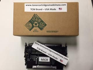 (TCM Brand 052H MICR TCM Brand OEM Alternative High-Yield Toner Cartridge for use in Canon imageCLASS LBP214dw, MF424dw, MF426dw. Yields up to 9,200 Pages. Canon 052H MICR. Made in USA. )