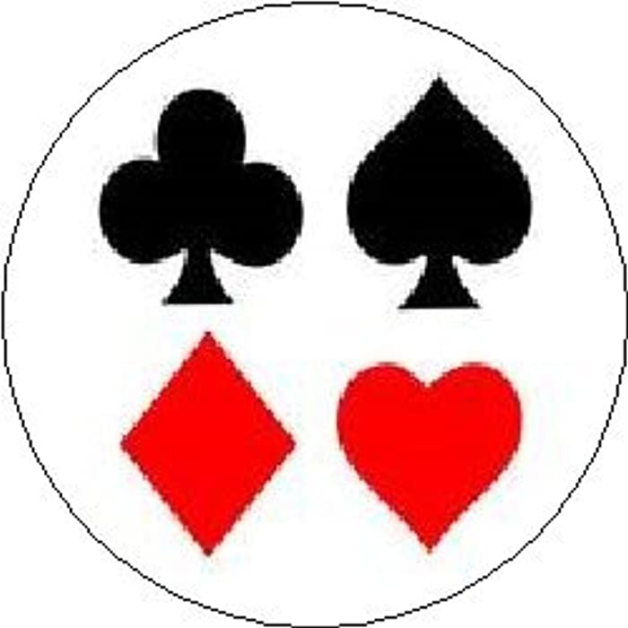 Amazon Playing Card Symbols Pinback Button 125 Cards Deck