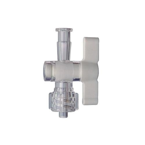 Kimble Chase 420163-0001 One-Way Stopcock Valve, Female Luer to Male Luer Lock (Pack of 10)