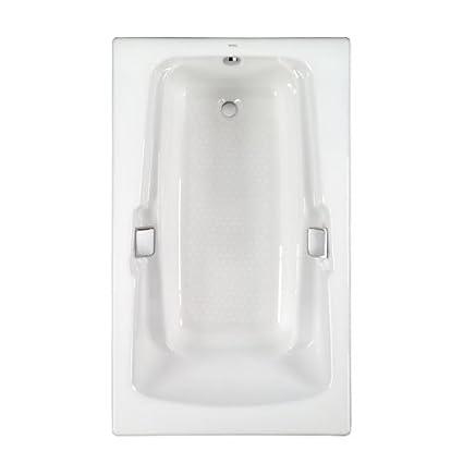 Toto FBY1500PNo.01 Enameled Cast Iron Bathtub 60 3/8 Inch By