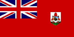 Bermuda Eyelet (Novelties Direct Bermuda/Bermudian Flag 5ft x 3ft (100% Polyester) With Eyelets For Hanging)