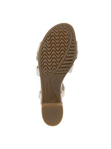 Tacco 36 Geox Grigio Donna 0sknf Sandalo D7273b Ypxqrtx0