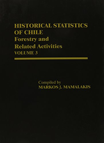 Historical Statistics of Chile, Volume III: Forestry and Related Activities
