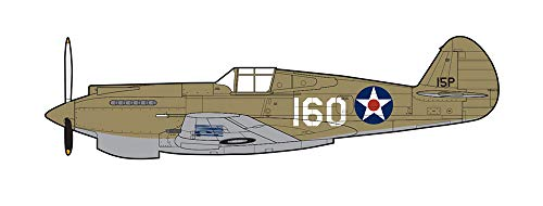 P-40B Warhawk Flown by 2nd Lt. George Welch, 47th Pursuit Squadron, 15th Pursuit Group, Wheeler Field, Oahu, Hawaii, 1941 1/48 Scale ()
