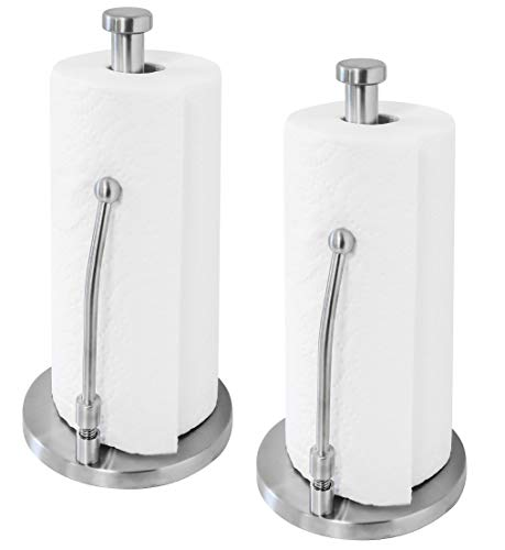 Paradis Basic Stainless Steel Paper Towel Holder - Pack of 2