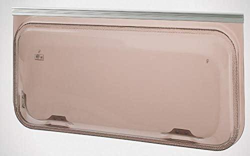 NRF srl Finestra Universale Europa Colore Dimensione Foro scocca WxH = 1600x300 ricambi Accessori Camper Caravan Bronzo