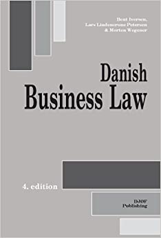 Book Danish Business Law: Fourth Edition