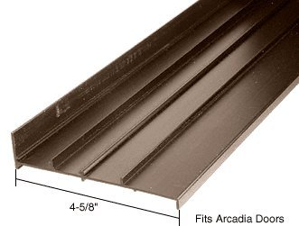 CRL Bronze OEM Replacement Threshold for Arcadia Doors: 4-5/8