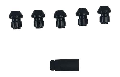 Gorilla Auto 96641BDX5 5-Pack 14mm x 1.50 Black Wheel Lug Nut Kit