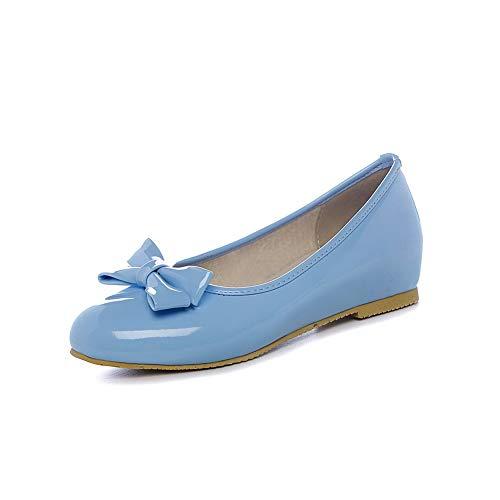 Bleu 1TO9 MMS06103 Femme 5 Bleu 36 Compensées Sandales Inconnu 71HqCXwxw